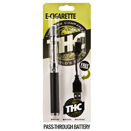 THC E-Cig Pass-through Battery